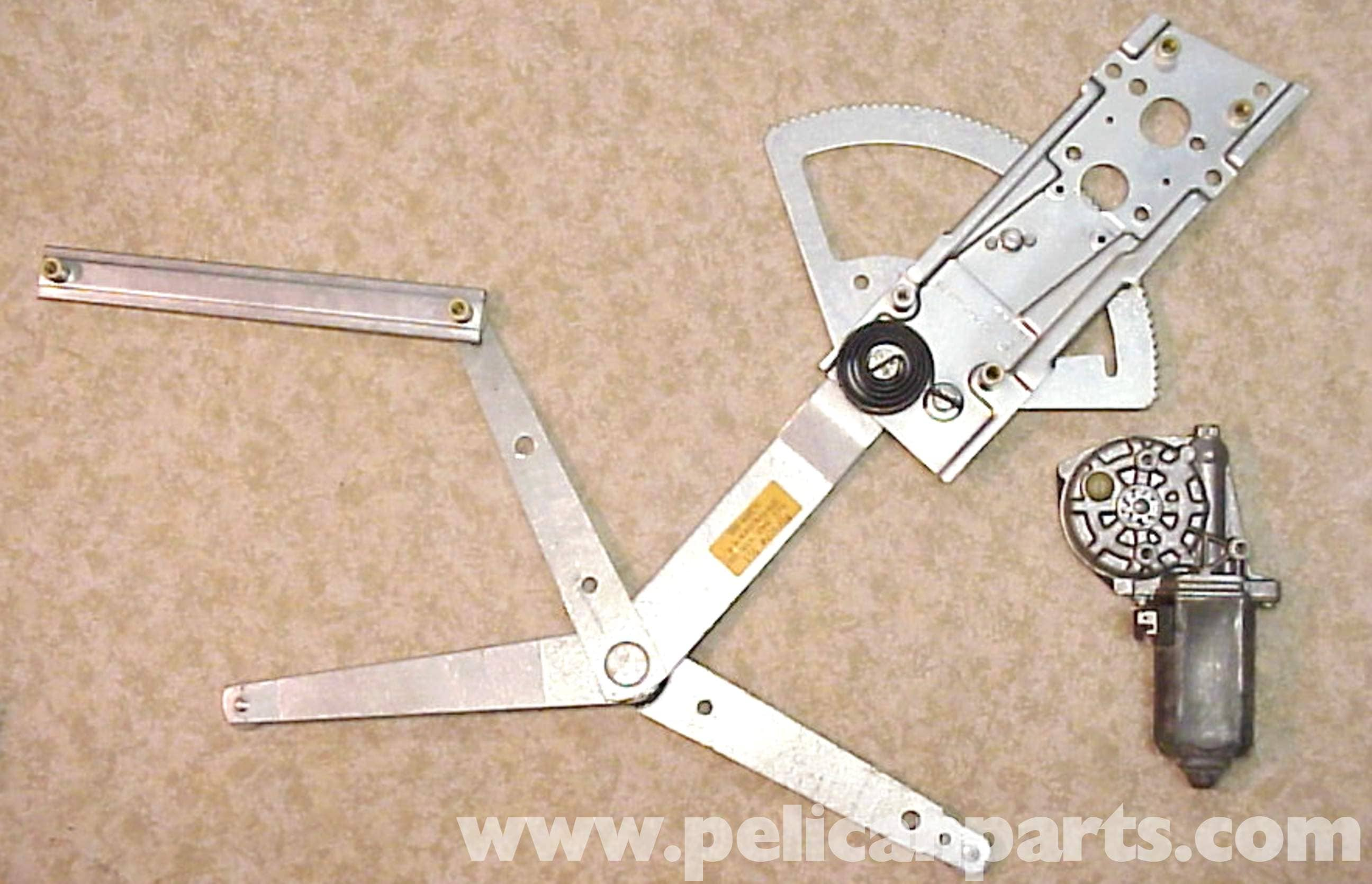 Porsche 911 window regulator and motor replacement 911 for Window mechanism