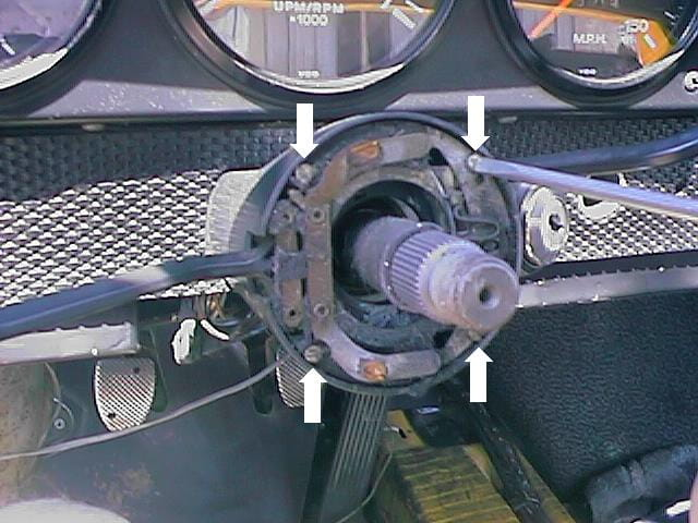 Porsche 914 Ignition Switch Replacement