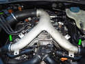 Shown here is the upper intake plenum on the C5 Audi A6 2.