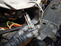 Headlight Assembly: It is important to remember not to touch the glass portion of the new bulb with your bare fingers.