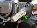 Headlight Assembly: The turn signal bulbs are located on the outside of the headlight assemblies.