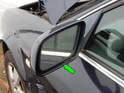 Shown here is the mirror glass for your Audi A6.