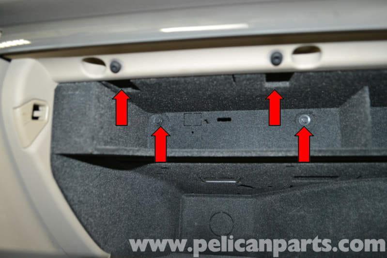 2007 audi a4 fuse box location audi a4 b6 glove box removal (2002-2008) | pelican parts ... #7