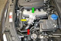 The throttle body (yellow arrow) is relatively easy to remove and clean.