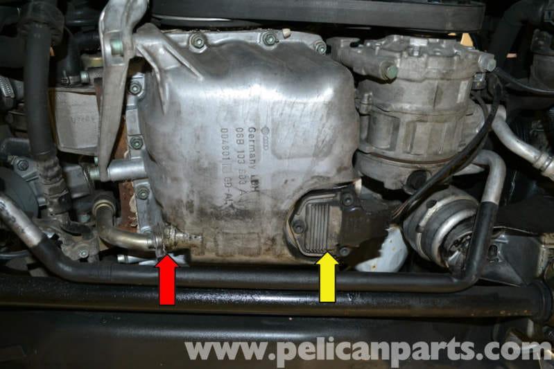 Audi a4 b8 27 tdi engine oil capacity