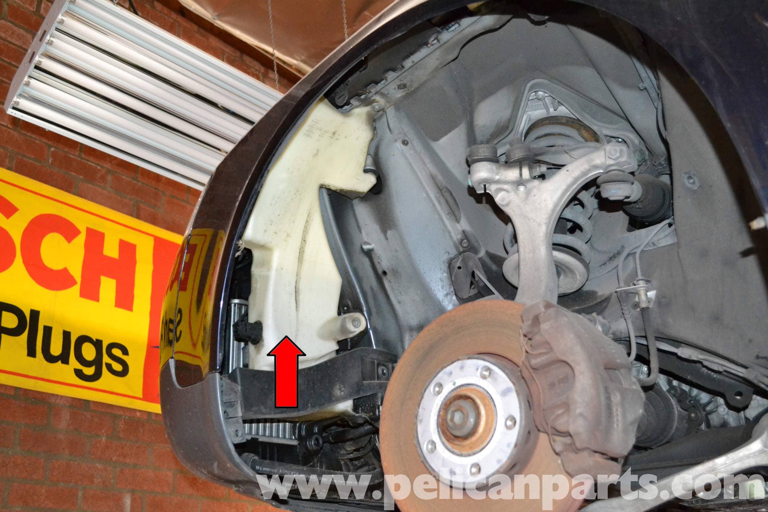 passat 2008 how to change windshield washer reservior