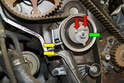 You will now need to set the proper tension on the tensioner.