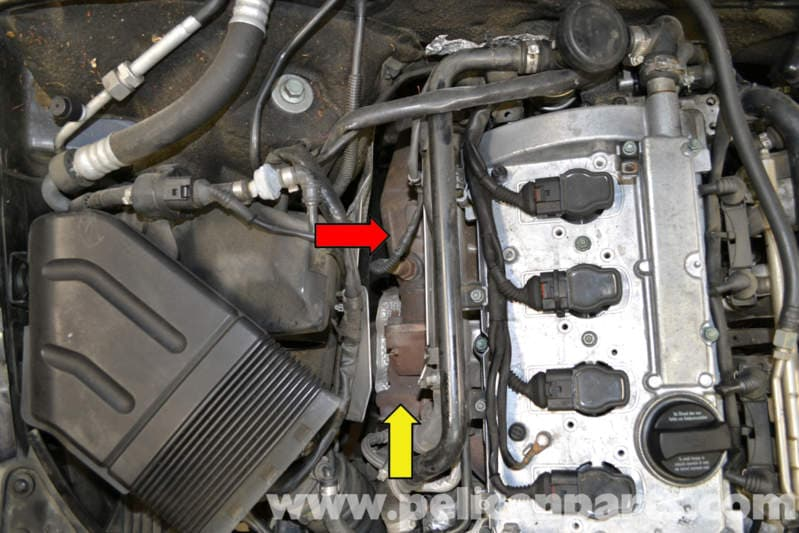Audi A4 B6 Catalytic Converter Replacement  2002