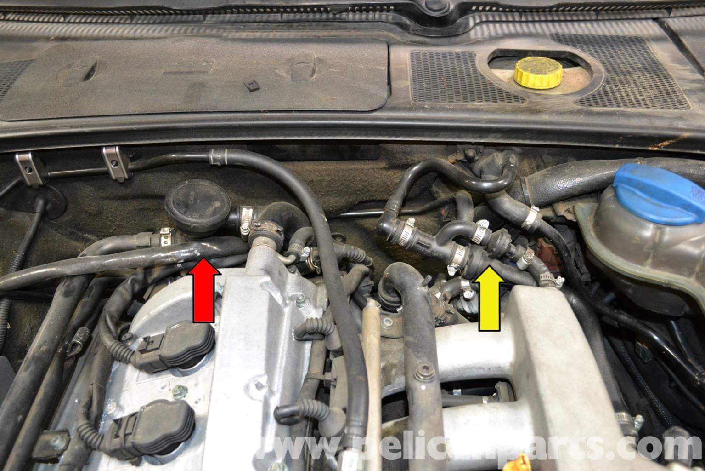 Audi A4 B6 Fixing Common Vacuum Leaks 2002 2008