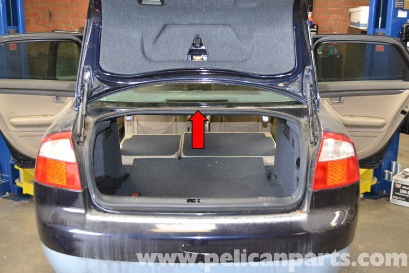 Audi A4 B6 Third Brake Light Replacement 2002 2008