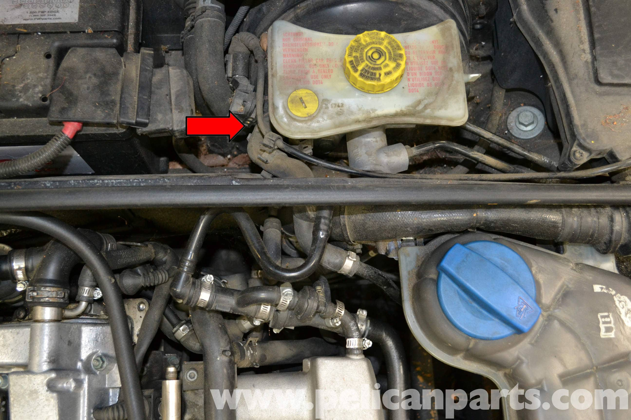 Audi A4 B6 Brake Booster Vacuum Pump Replacement 2002