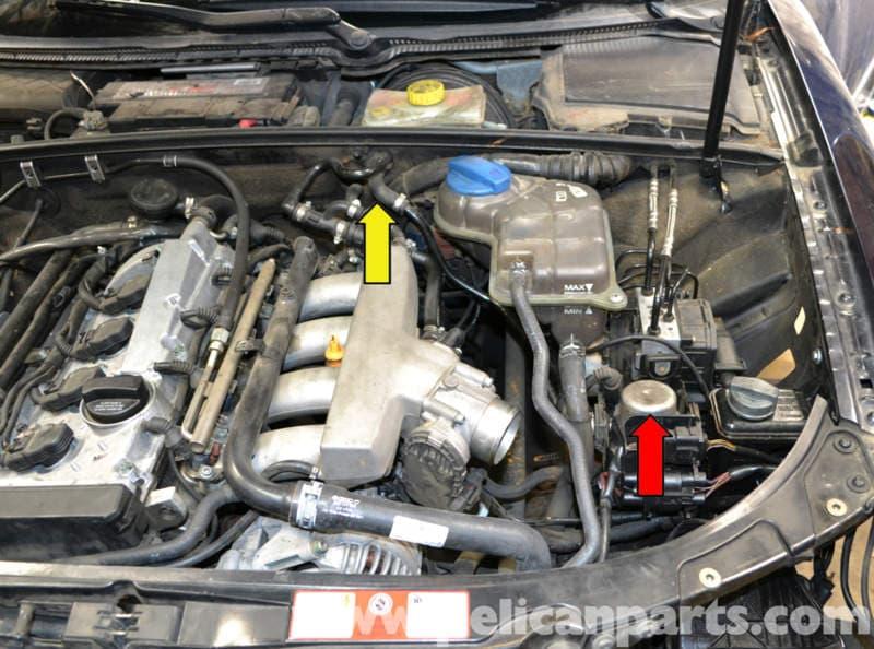 2004 audi a4 1 8t vacuum diagram 2004 image wiring audi a4 b6 brake booster vacuum pump replacement 2002 2008 on 2004 audi a4 1 8t
