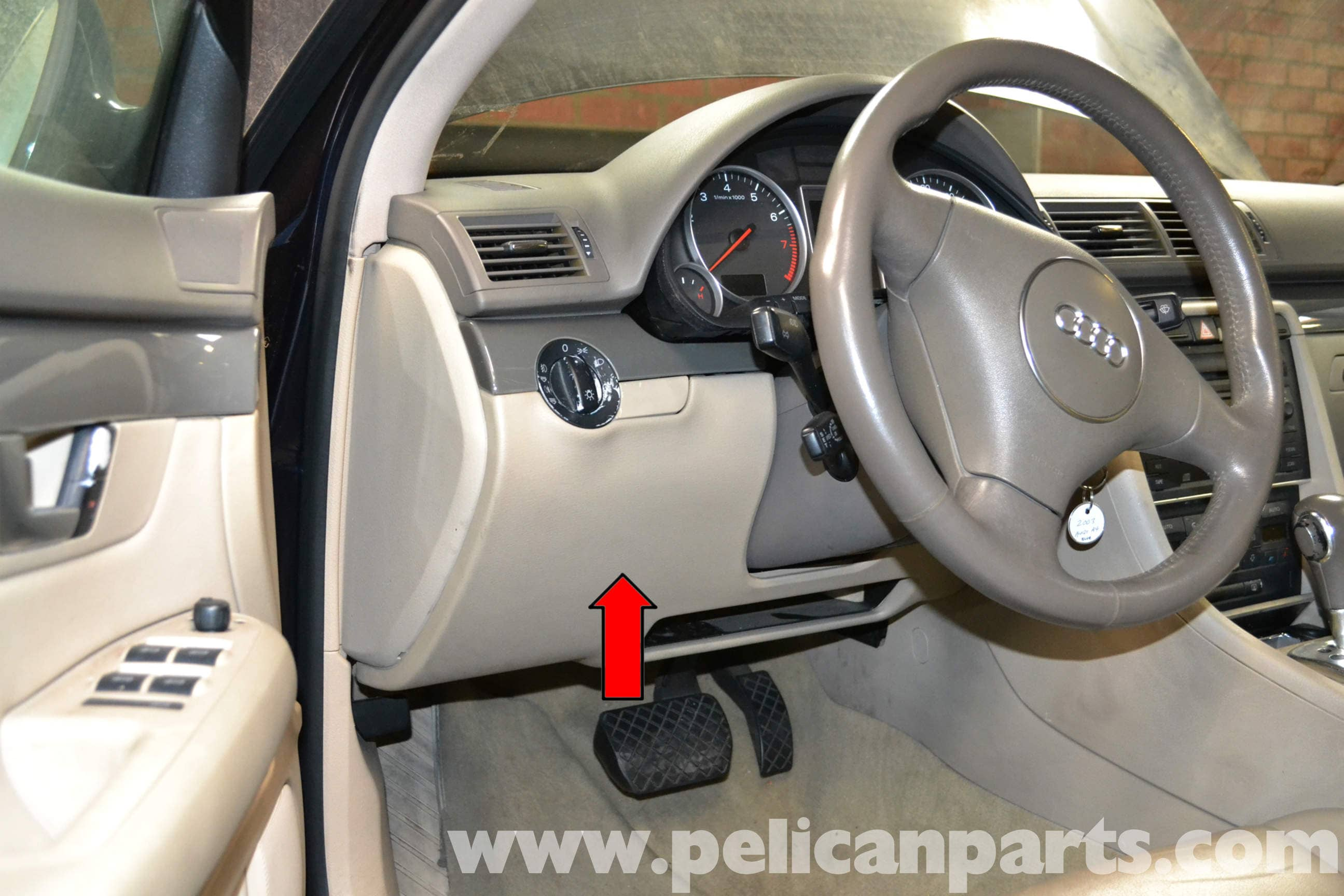 Audi A4 B6 Brake Light Switch Replacement 2002 2008