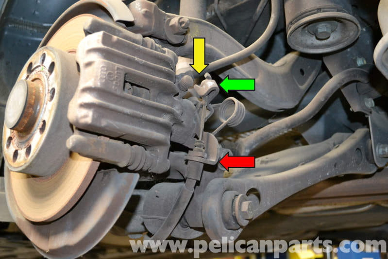 Audi A4 B6 Parking Brake Cable Adjustment And Replacement