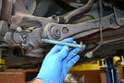 Tie Rod- All the hardware involved with this job are single use and need to be replaced.