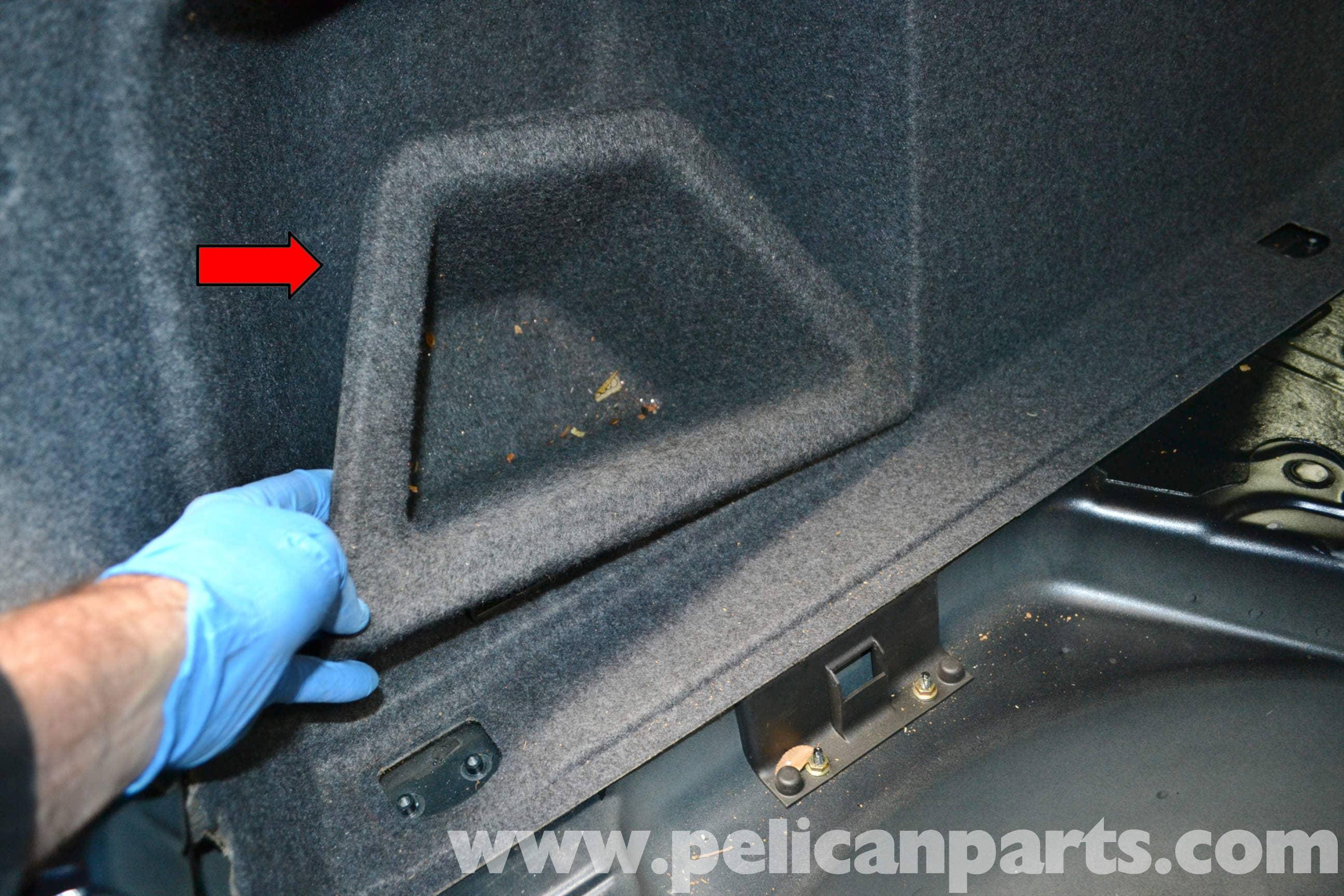 Audi A4 B6 Rear Interior Panel Removal 2002 2008