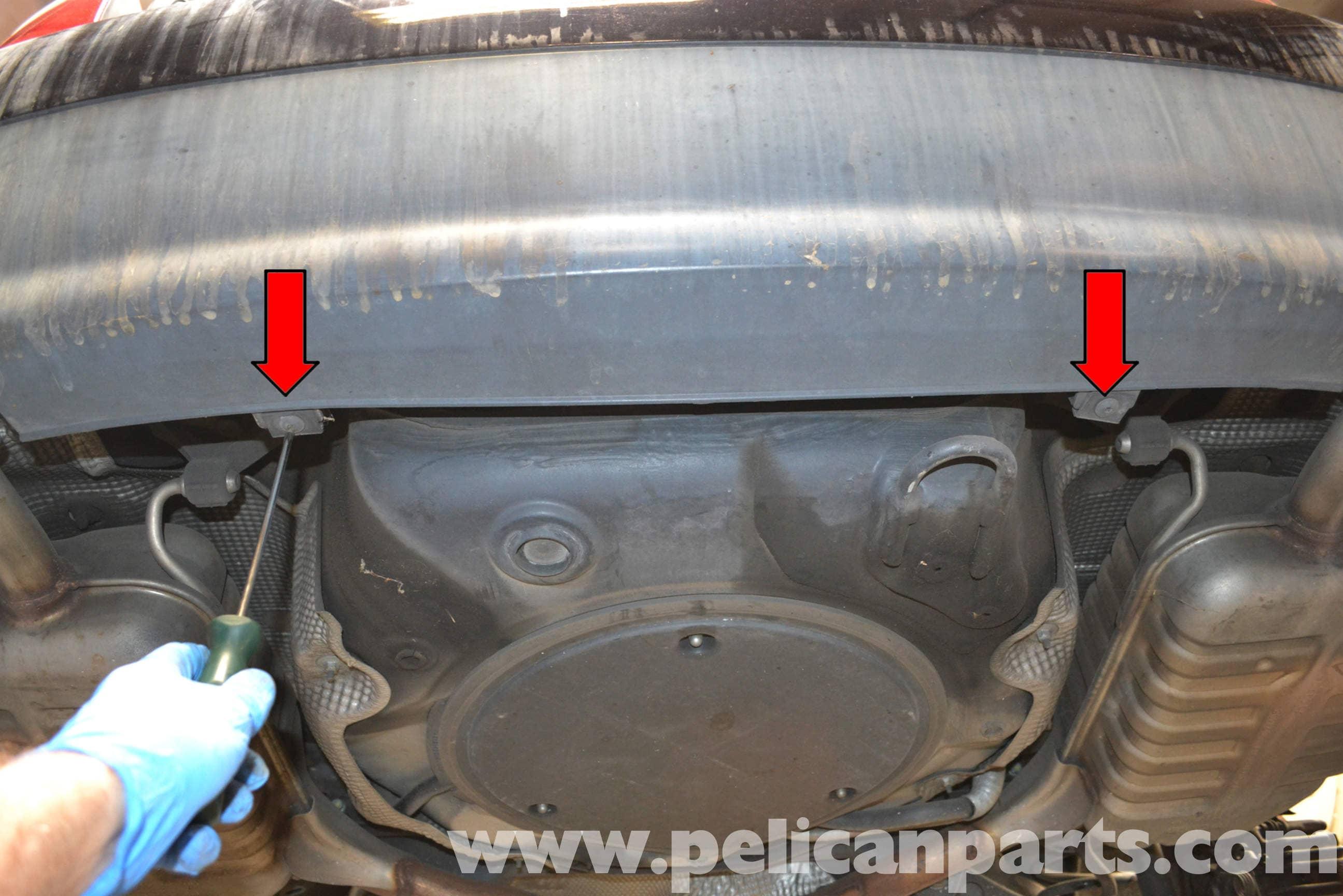 audi   rear bumper removal   pelican parts
