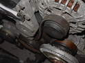 Just like before, use your wrench to loosen the tensioner pulley.