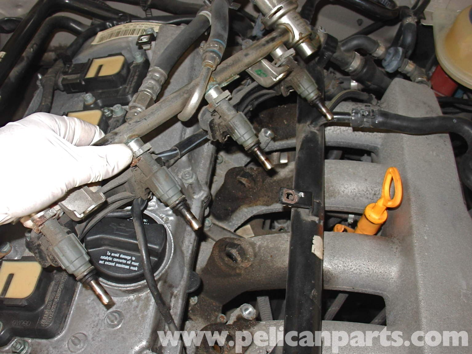 Audi A4 1 8t Volkswagen Fuel Injector Replacement Golf