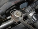 This is the fuel pressure regulator.