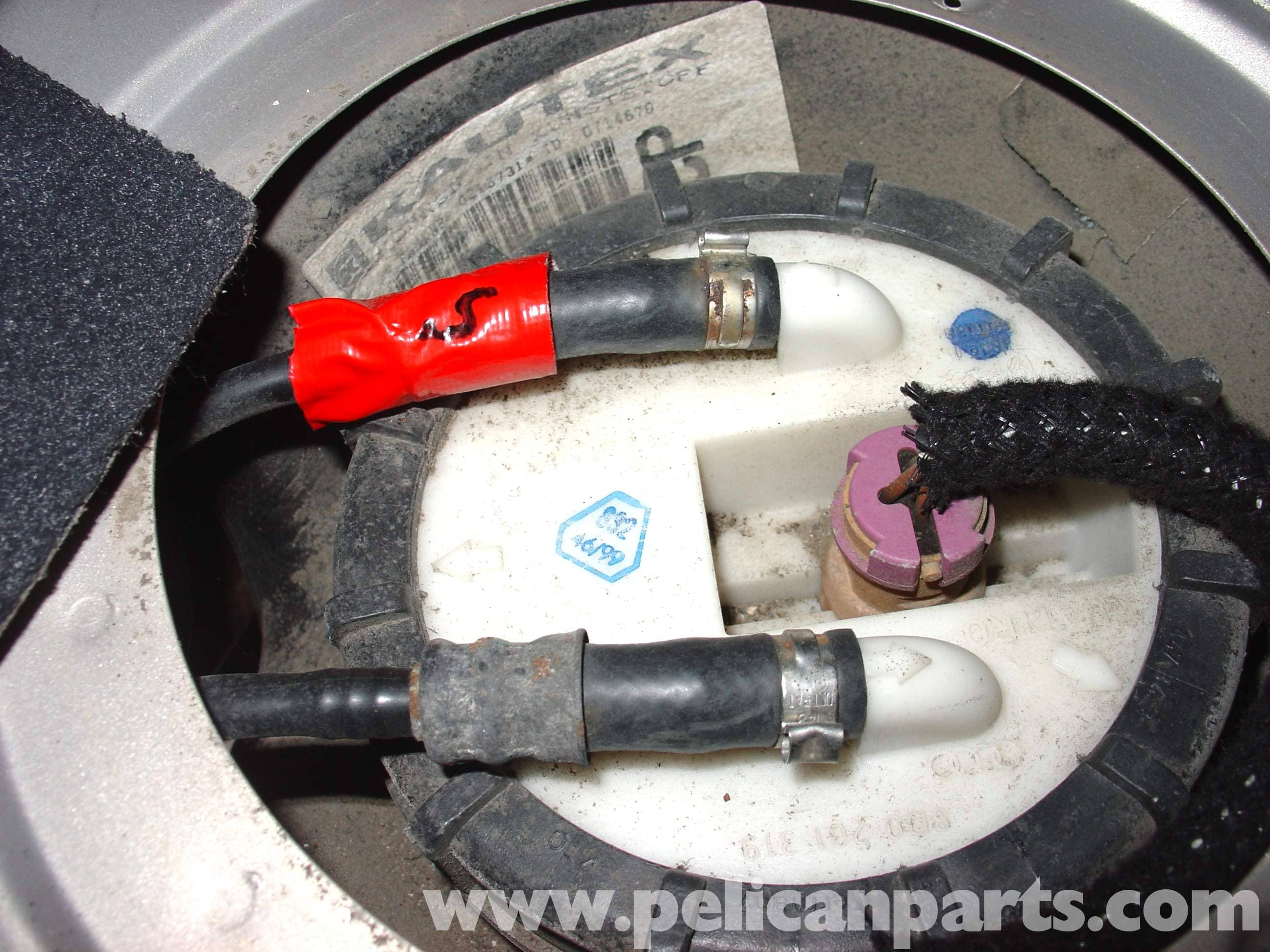 Audi A4 1.8T Volkswagen Fuel Pump Replacement | Golf, Jetta, Passat & Beetle | Pelican Parts DIY ...