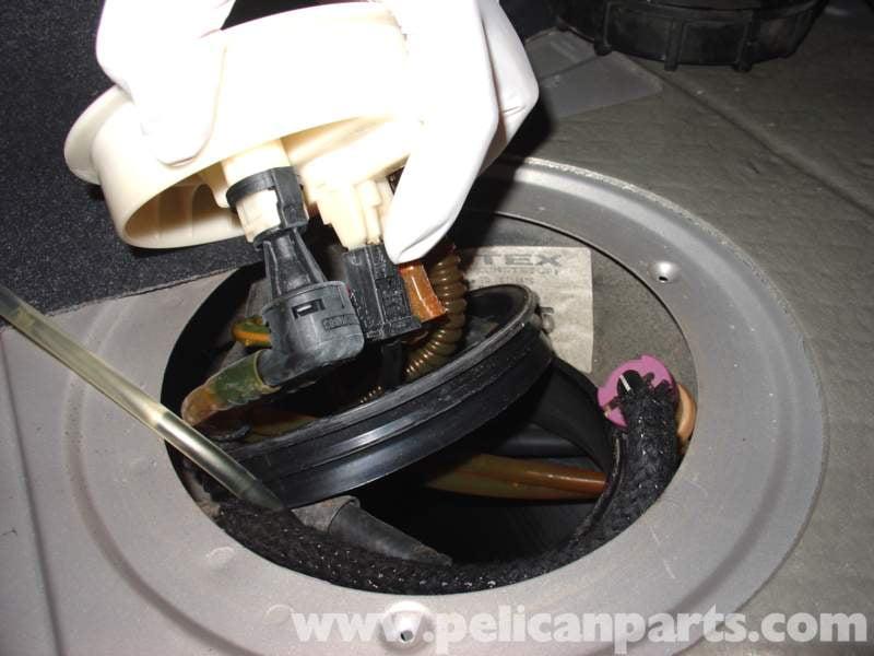 audi   volkswagen fuel pump replacement golf jetta passat beetle pelican parts diy