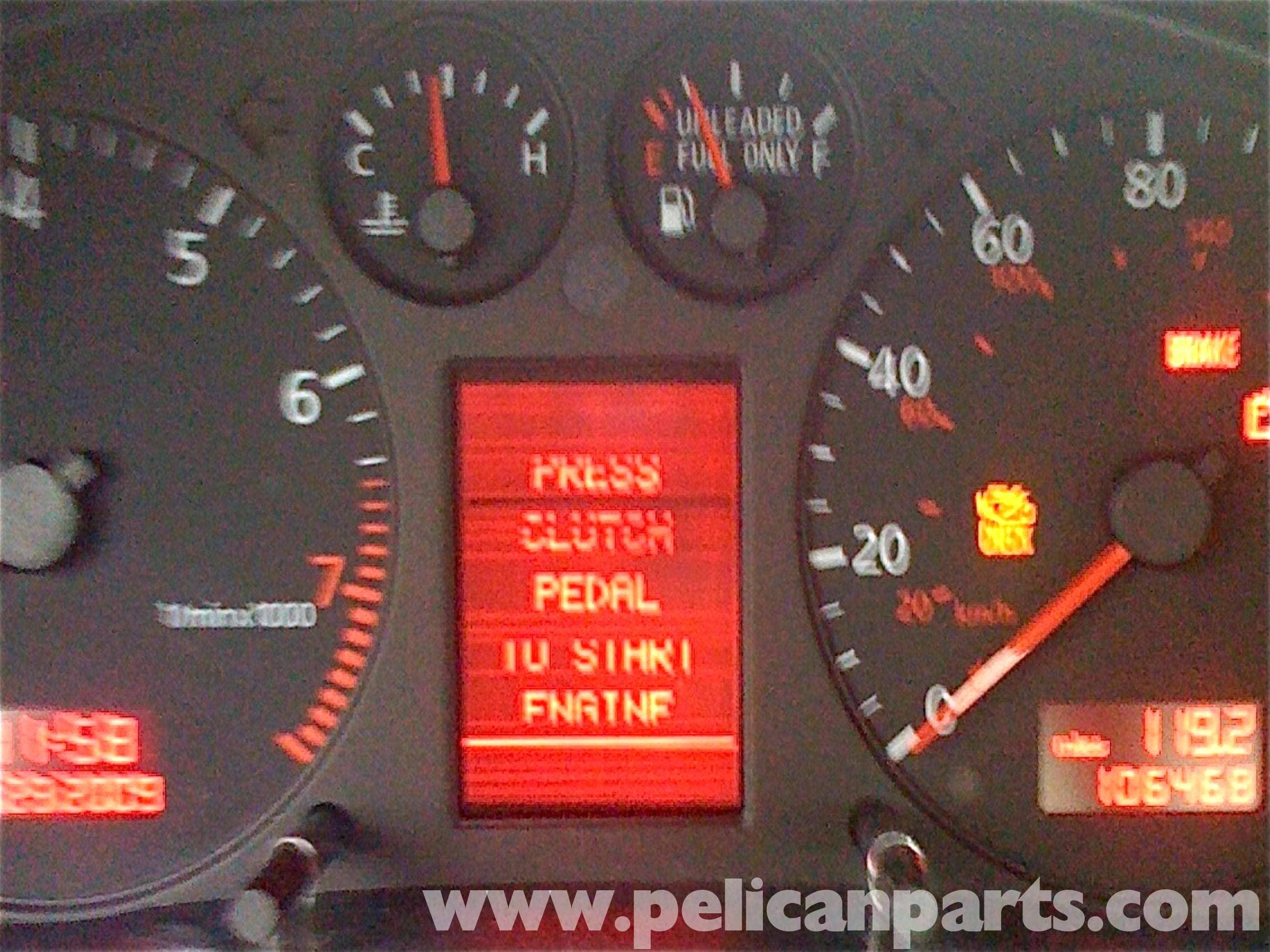 Audi A4 1 8t Volkswagen Center Display Repair Golf