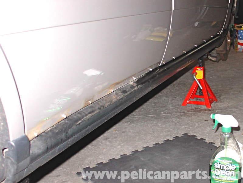 Audi A4 1 8t Volkswagen Lower Door Trim Fix Golf Jetta