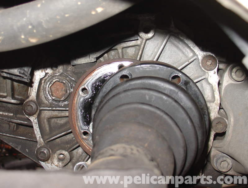 audi a4 quattro b5 transmission removal 1997 2001 pelican once you remove all the axle bolts you you can only move the