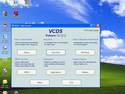 This is the main menu for the VCDS software as seen on a Windows XP desktop.