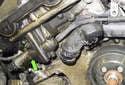 M54 Engine Exhaust VANOS Solenoid: Next, using a 32mm wrench, loosen the VANOS solenoid.