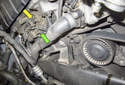 NG6 Engine VANOS Solenoid: The VANOS solenoids are located at the front of the cylinder head.