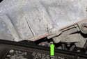 NG6 Engine VANOS Solenoid: Remove the VANOS solenoid 10mm fastener (green arrow).