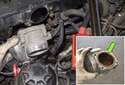 Then, remove the throttle housing from your engine.