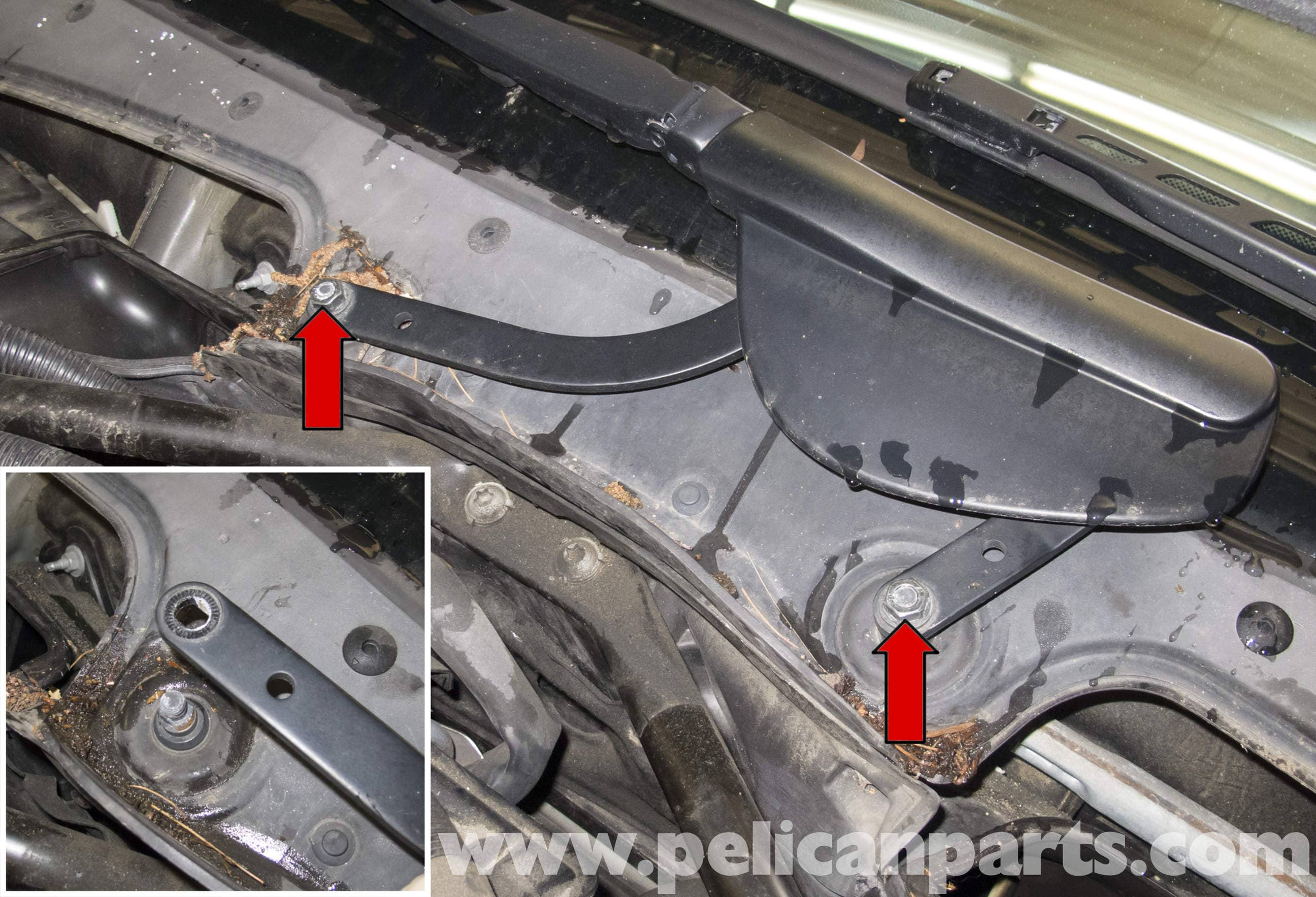 Battery Terminal Covers >> BMW E60 5-Series Wiper Motor Replacement (2003-2010) - Pelican Parts Technical Article