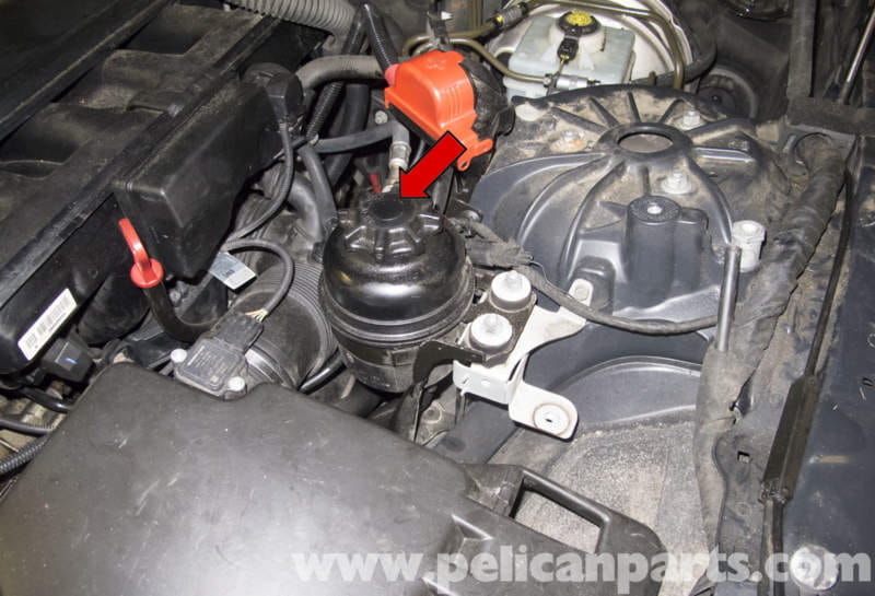 Bmw E60 5 Series Power Steering Reservoir Replacing 2003