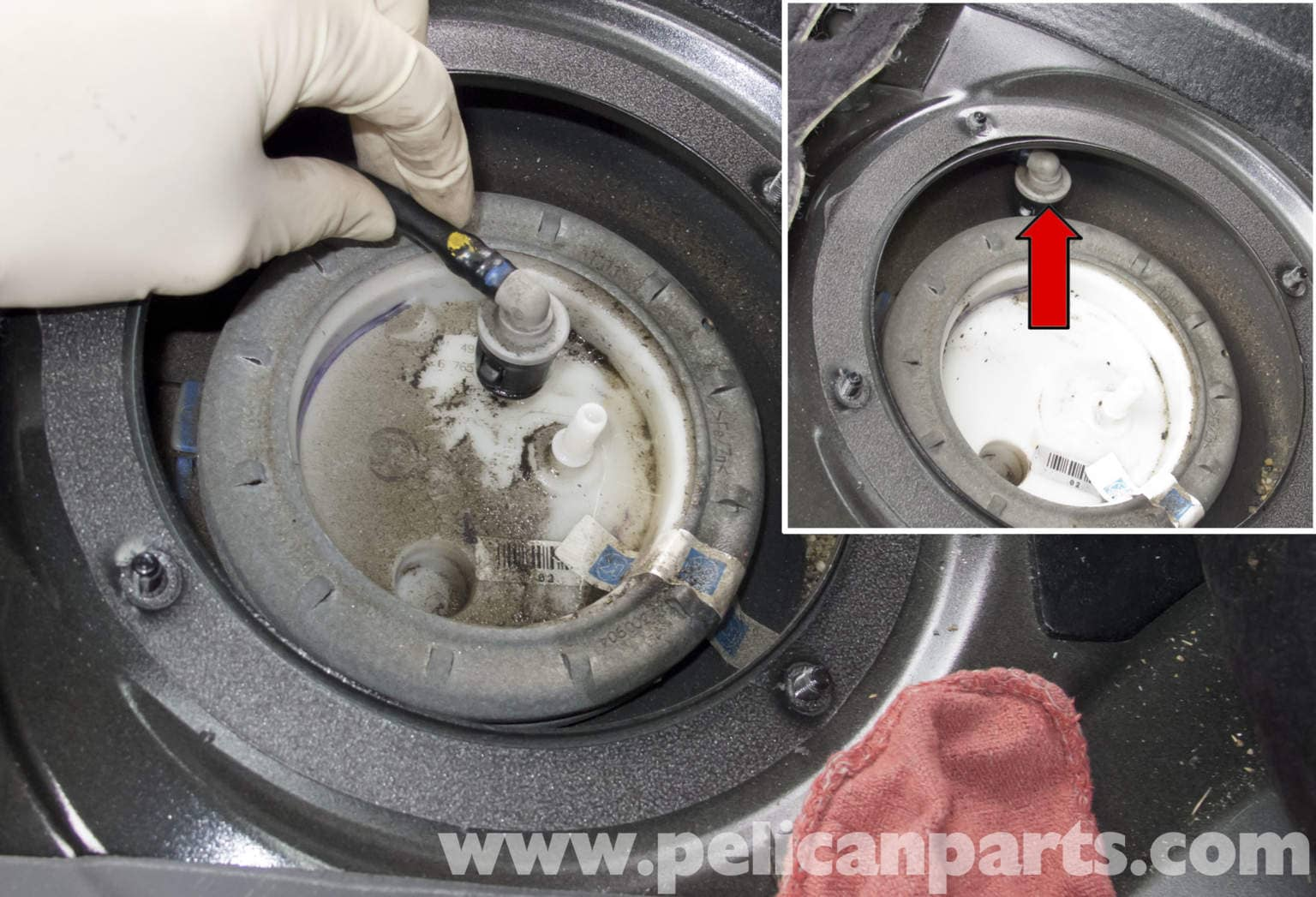 Fuel Pump Replacement : Bmw e series fuel pump replacement
