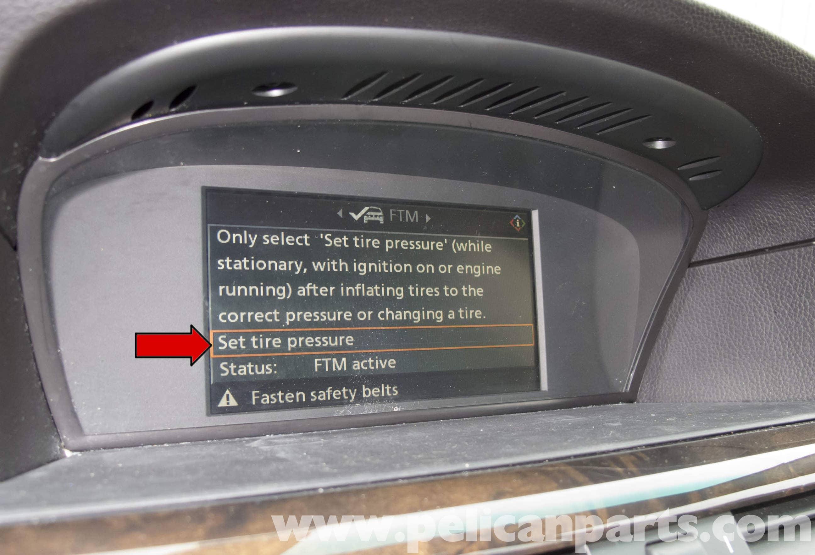 BMW E60 5Series Tire Pressure Monitoring System 20032010