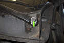 Left wiper blade adjusting: I like to mark the position of the wiper arm using a paint marker.