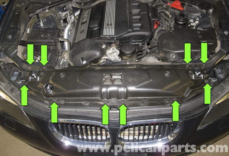 Bmw E60 5 Series Front Bumper Replacement Pelican Parts