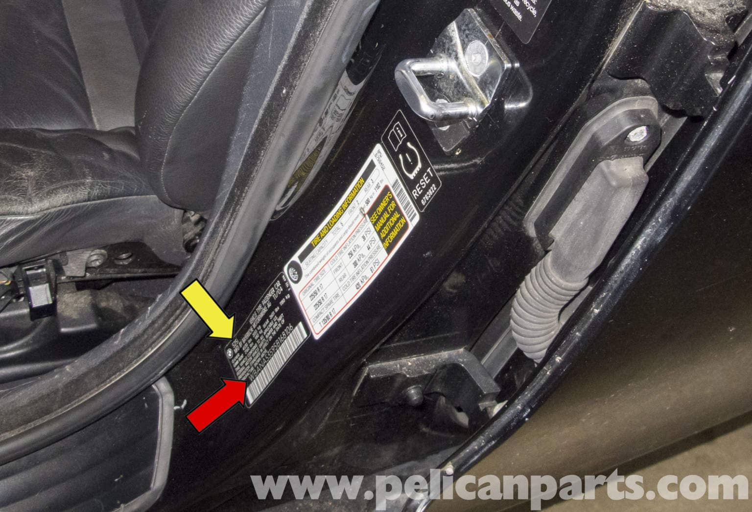 bmw e60 5 series identifying bmw e60 vehicle options 2003 2010 pelican parts technical article. Black Bedroom Furniture Sets. Home Design Ideas