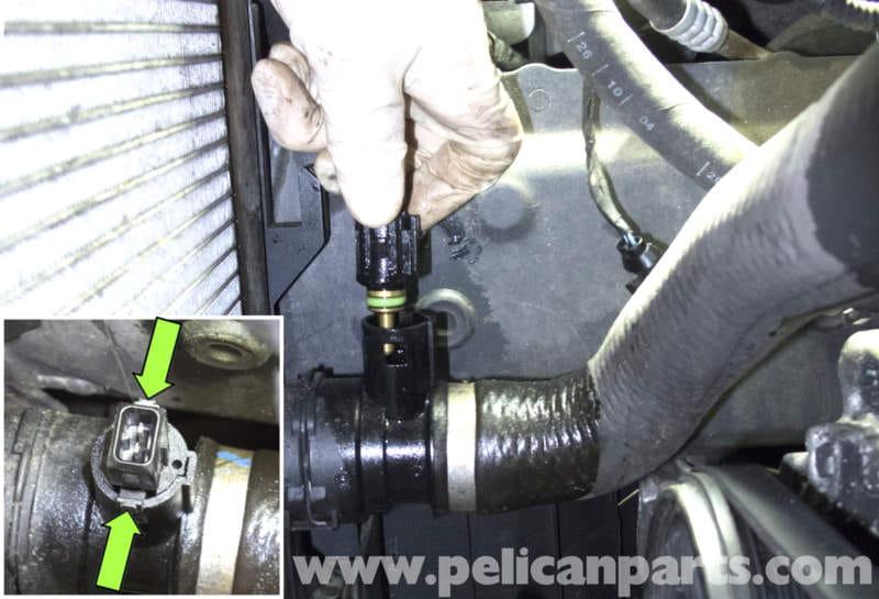 Aftermarket Bmw Radiator Hose Temperature Sensor Coolant Switch Oem