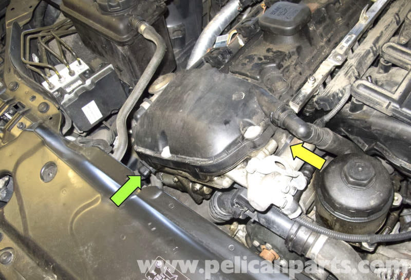 how to change crankshaft sensor on 2008 bmw 323i p033