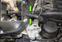 Intake camshaft sensor: Remove the engine covers.