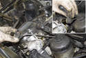Intake camshaft sensor: Remove the camshaft sensor from the cylinder head.