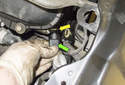 Exhaust camshaft sensor: Pull the camshaft sensor out of the cylinder head.