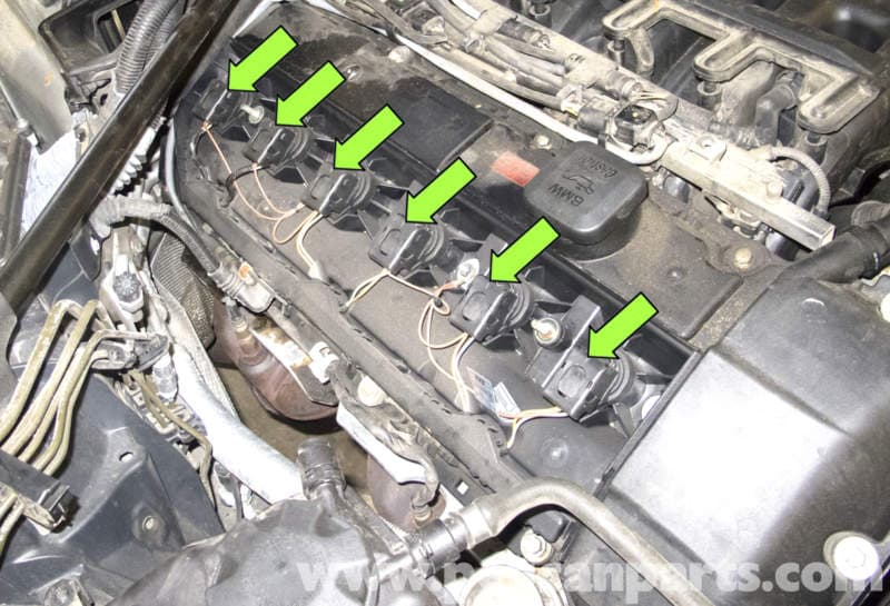 Bmw E60 5 Series Spark Plug And Ignition Coil Replacement