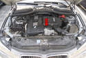 In the N54 6-cylinder engine, the turbocharger, intercooler and intake manifold (red arrow, just below intake air box) are an integrated system with pressure and temperature sensors and actuators in order to ensure that the volume of intake air is optimal for the engine operating conditions.
