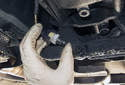 Testing: Remove the reverse light switch from the transmission as described earlier in this tech article.