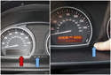 FIRST: Turn off the ignition and place the vehicle in park or first gear (manual transmission).